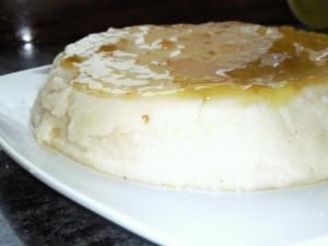 Tarta rápida de yogurt (5 minutos)