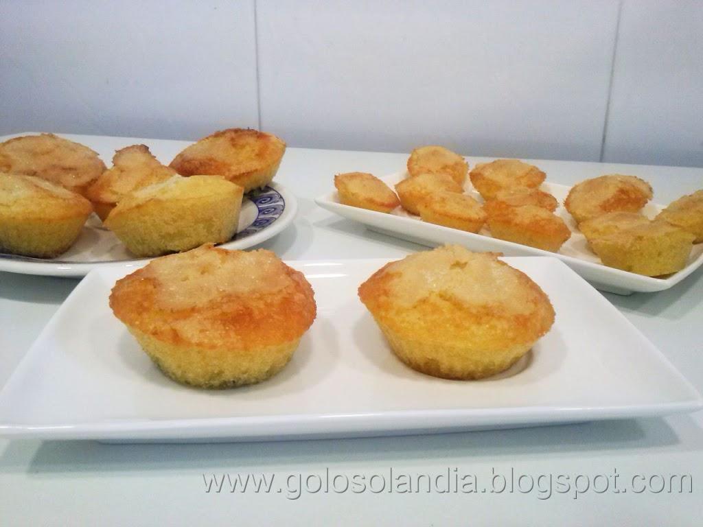 Magdalenas caseras o muffins receta casera - Madalenas o magdalenas ...
